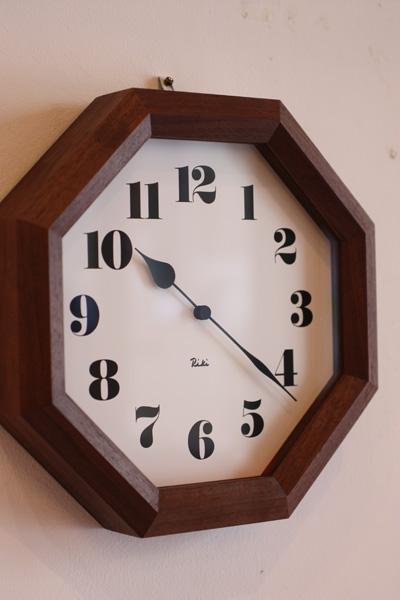 リキ八角時計画像-3