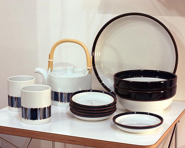 白山陶器 キルト、マルティブルー