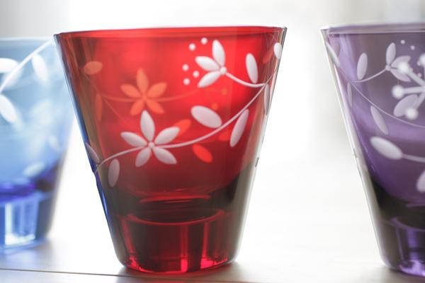 切子-赤紫青