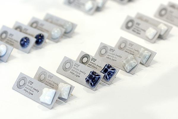 U'U' ceramic jewelry and objects