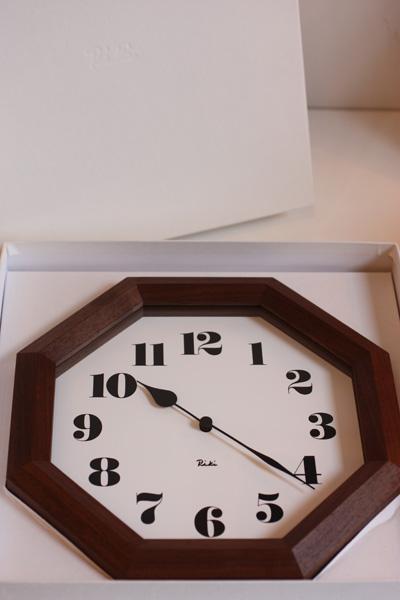 リキ八角時計画像-2