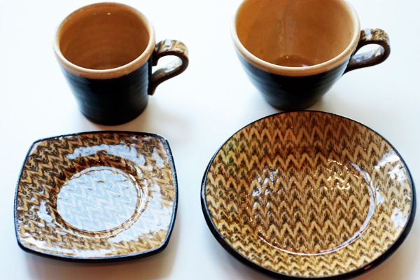 slipwareplate&cup